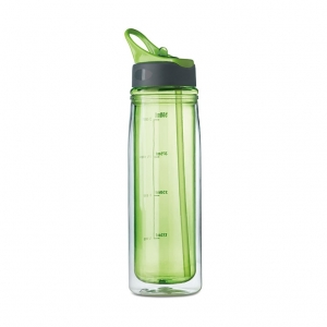 Double wall drinking bottle