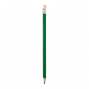 Pencil with eraser