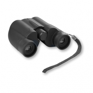 Binoculars in rubberized finish