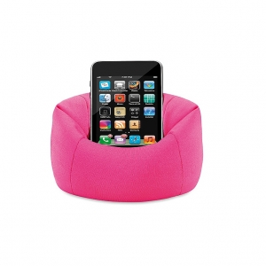 Puffy smartphone holder