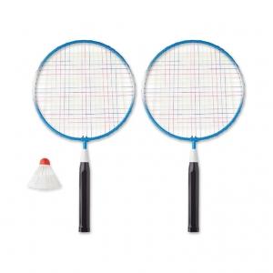 Badminton set including 1 shuttle cock