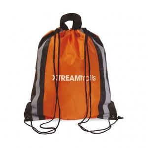 Polyester drawstring bag