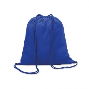 Drawstring bag in cotton