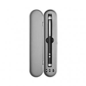 Multifunctional metal ball pen