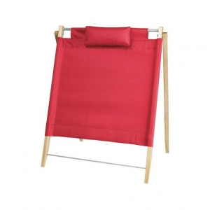 Foldable beach back rest