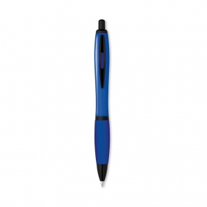 Retractable plastic ball pen