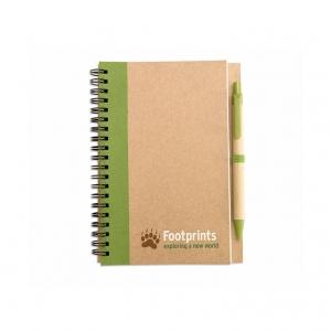 Notebook + pen