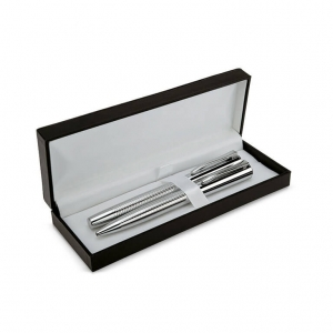 Metal pen set with ball pen