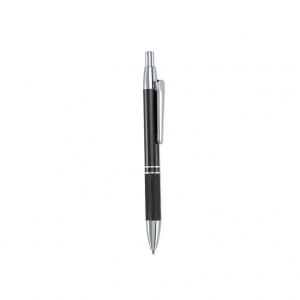 Retractable aluminium ball pen