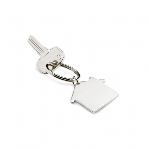 House shaped key ring