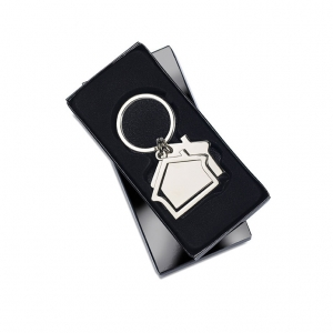 House Shape Key Ring