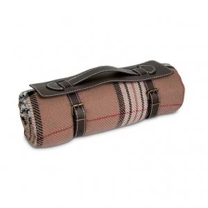 Acrylic tartan blanket