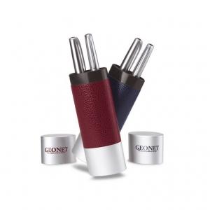 Ball pen and fountain pen set