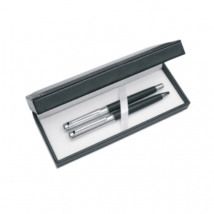 Metal Pen Set in PU Gift Box