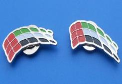 National Day pin UAE