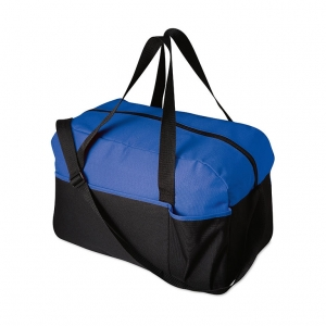 Colourful sport bag in 600D polyester.