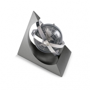 360º rotating desk clock