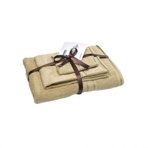Set of 3 bathroom towels