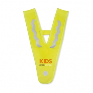 Children vest in triangle shape