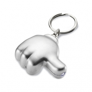 Light Key Ring in Plastic