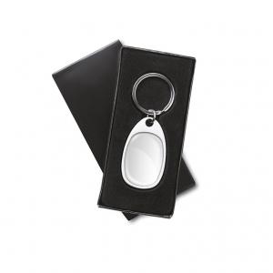 Metal key ring for doming