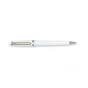 Classic plastic push type ball pen