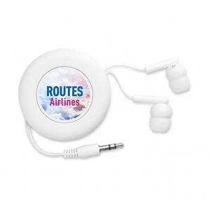 Retractable earphone