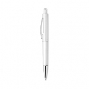 Transparent push button pen