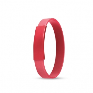 Silicone Band Key Ring