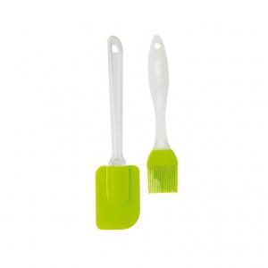 Silicone spatula and brush